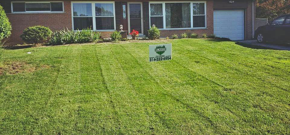 Lawn Mowing Strips, Residential Lawn Care In Maryland Heights, MO